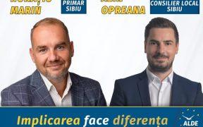Cadrul universitar Alin Opreana: Prin candidatura pentru Consiliul Local am ales să sprijin proiectul politicliberal al lui Horațiu Marin pentru un Sibiu divers și multicultural (P.E.)