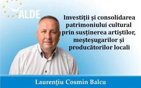 Laurenţiu Cosmin Balcu, viitorul preşedinte al Consiliului Judeţean Sibiu: Mărginimea a fost uitată de politicienii judeţului (P.E.)