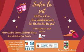 """Teatru la sat -,,Din năzdrăvăniile lui Nastratin Hogea"""""""