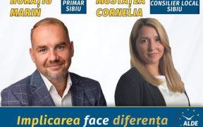 Cornelia Mustățea, propunerea ALDE pentru Consiliul Local Sibiu: Vă îndemn să îl votați pe Horațiu Marin- o persoană implicată (P.E.)