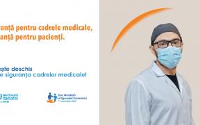 Spitalul de Pneumoftiziologie, iluminat în portocaliu cu ocazia Zilei Mondiale a Pacientului