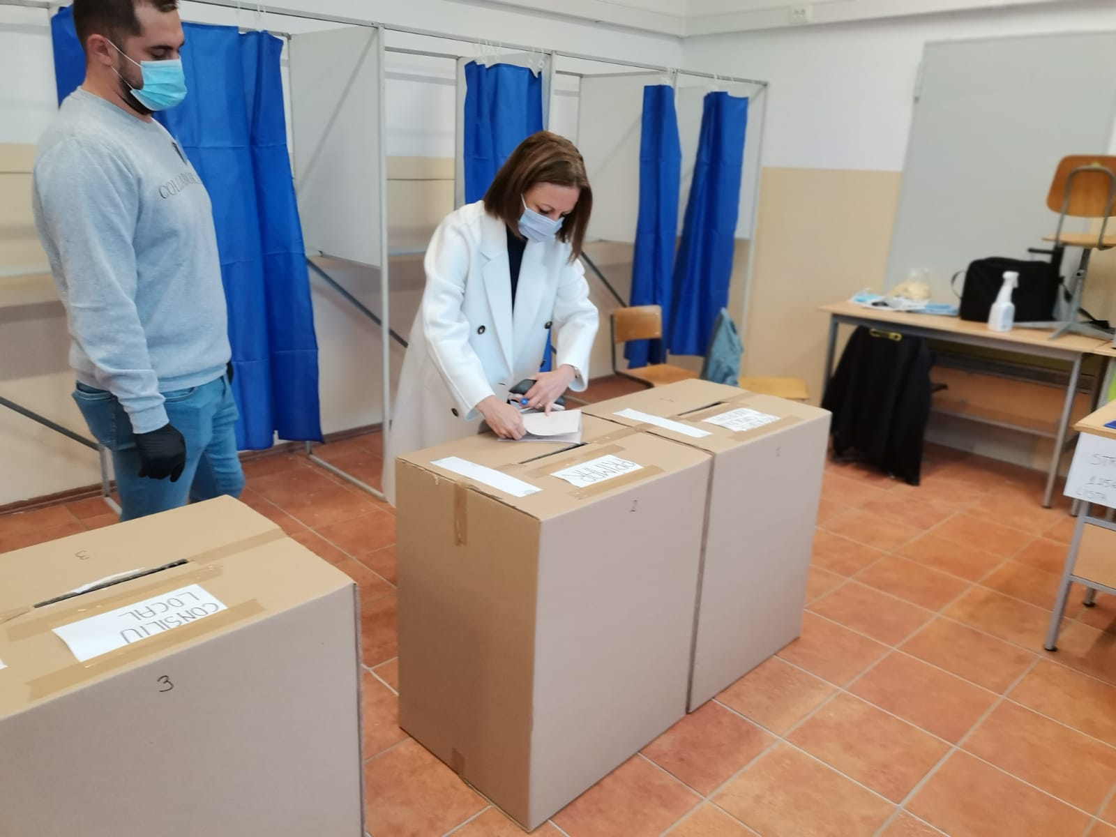 Daniela Cîmpean: Am votat azi pentru un Sibiu curajos, care să își asume proiecte îndrăznețe menite să îi asigure o dezvoltare durabilă