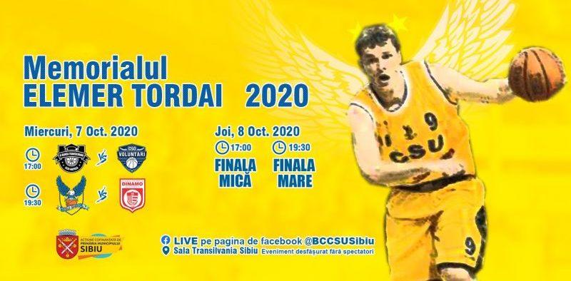 Memorialul Elemer Tordai 2020 dă startul competițiilor de baschet pentru seniori