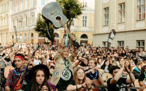 elevii Liceului de Artă din Sibiu