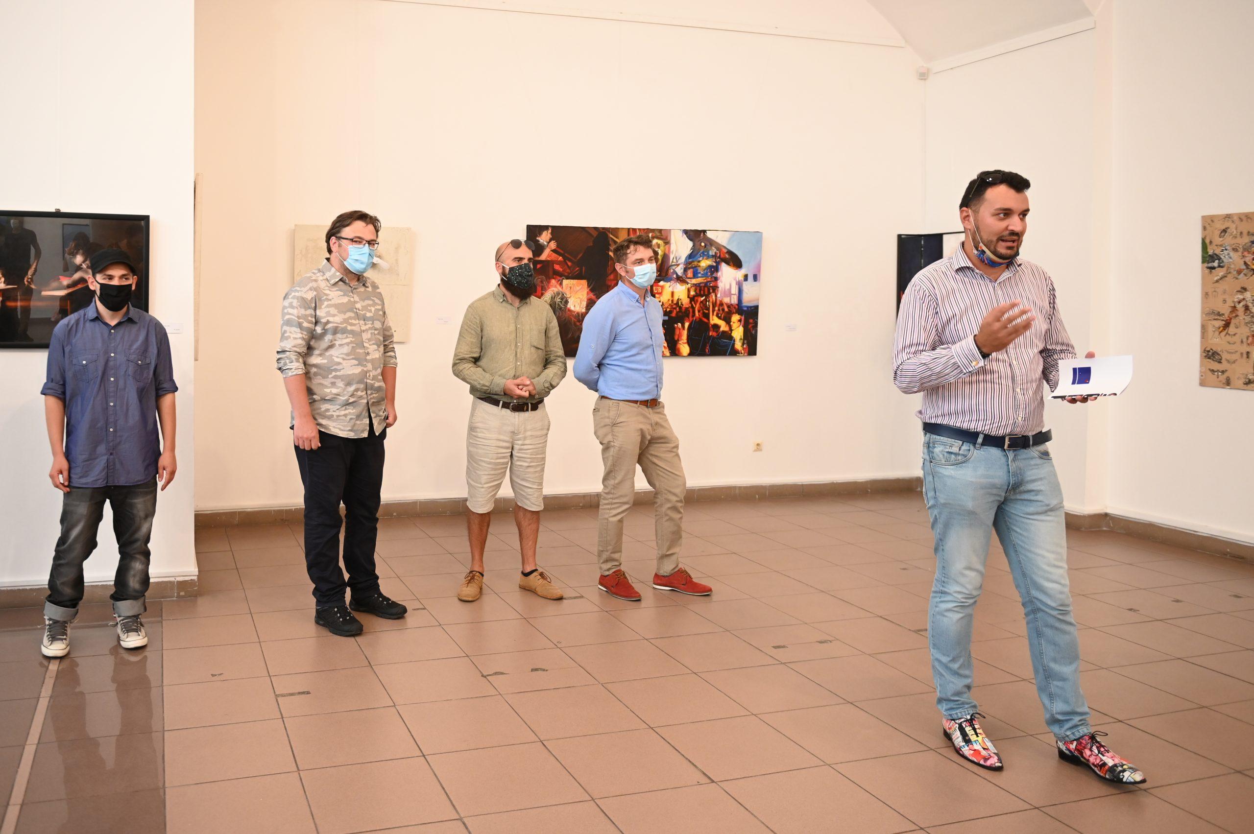 36 de artiști participă la prima ediție a evenimentului Sibiu Contemporary Art Festival