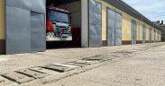 Bază ISU la Aeroportul Internațional Sibiu pentru intervenții mai rapide în zona de VEST