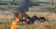 Cei peste 300 de cadeți ai AFT Sibiu au cunoscut viața de militar