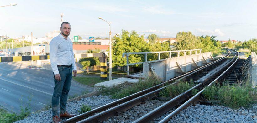 Adrian Bibu despre Centura Sud și Trenul periurban