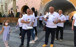 Mesajul lui Horațiu Marin, candidatul ALDE la Primăria Sibiu: Implicarea face diferența! Un prim pas este exercitarea votului! (P.E.)