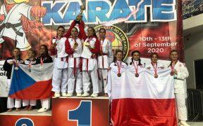 Karatiștii Liceului Teoretic Axente Sever Mediaș, campioni mondiali în Polonia