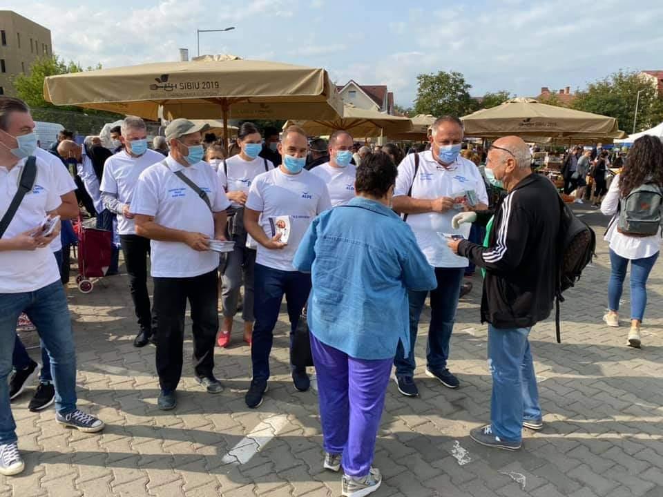 Marin Horaţiu, viitor primar al Sibiului: Sibienii vor pieţe volante în fiecare cartier! ( P.E.)