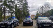 10 autospeciale noi au intrat în dotarea jandarmilor sibieni