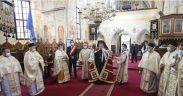 Binecuvântare peste comunitatea de credincioşi din Săliştea Sibiului