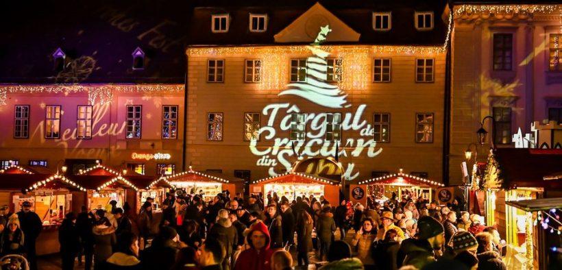 Târgul de Crăciun din Sibiu revine în Piața Mare