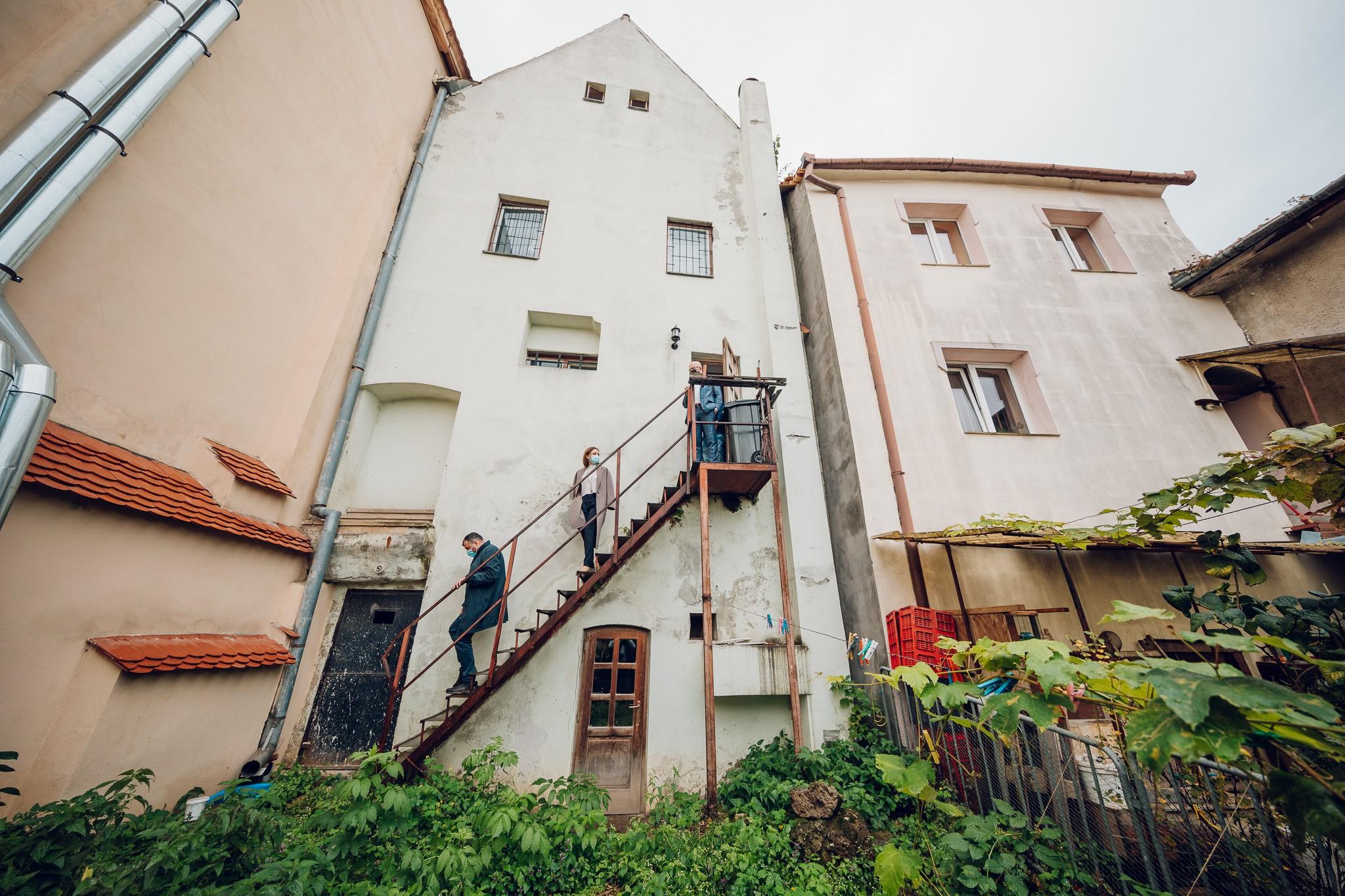 FOTO- Casa Artelor intră în restaurare