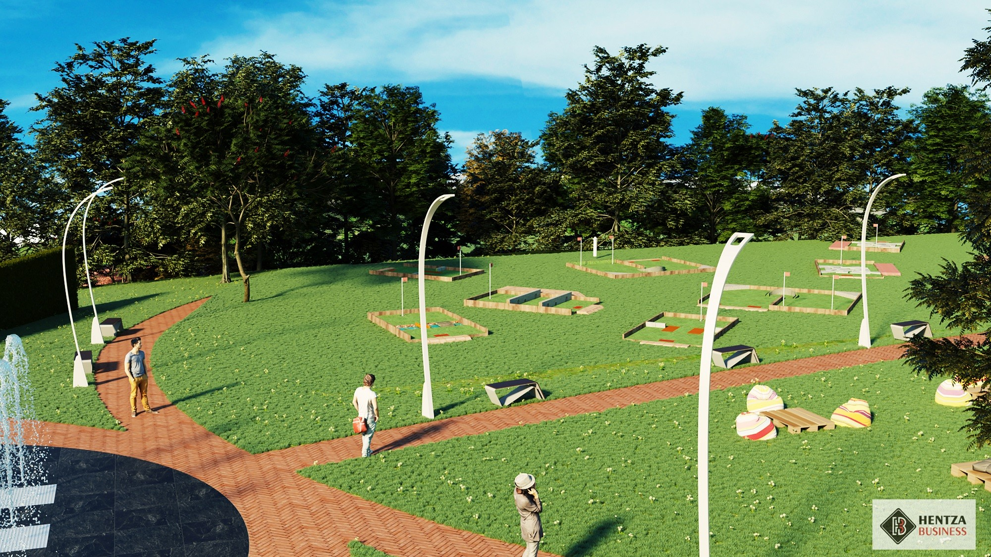Începe amenajarea Parcului Tilișca, al doilea cel mai mare parc al Sibiului