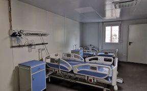 Pavilioanele modulare de la spitalul județean sunt finalizate