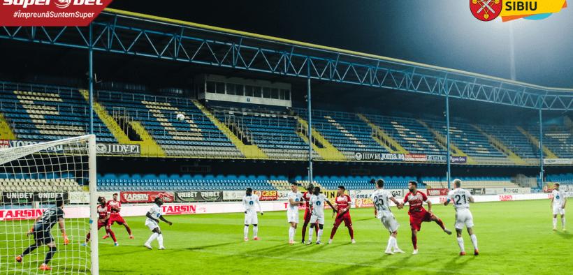 A.F.C.Hermannstadt va juca următoarele meciuri pe terenul Gaz Metanului