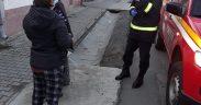 Anti-Covid cu portavoce: Pompierii din Sibiu ies în stradă pentru a îndemna populaţia să se protejeze de noul virus