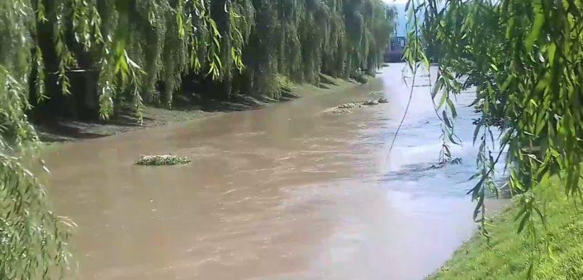ISU Sibiu a intervenit la salvarea unui bărbat căzut în Râul Cibin