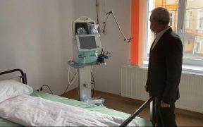 FOTO- Spitalul Municipal din Mediaș poate primi pacienți diagnosticați cu COVID-19