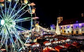 COVID-19 anulează Târgul de Crăciun din Sibiu