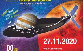 Noaptea Cercetătorilor încântă publicul cu știință pe 27 noiembrie 2020