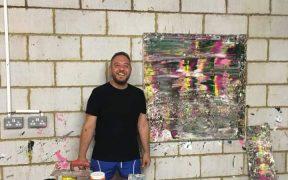 """Pictorul sibian, Mihai Bogdan Radu, decorat cu Ordinul """"Meritul Cultural"""" în grad de Cavaler, Categoria C - """"Artele plastice"""""""