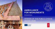 """""""Ambulanţa pentru monumente"""", câştigătoarea Premiului Publicului în cadrul Premiilor Europene pentru Patrimoniu"""