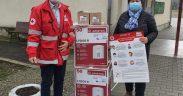 Crucea Roșie Română - Filiala Sibiu a donat câteva boilere unor școli din județ