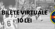 Bilete virtuale la Gaz Metan Mediaș – FCSB   Toate încasările vor fi donate unei familii din Mediaș