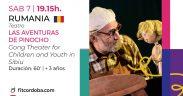 """""""Aventurile lui Pinocchio"""", spectacolul Teatrului """"Gong"""" se vede în Argentina"""