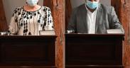 Corina Bokor (FDGR) și Alexandru Dumbravă (PNL) sunt viceprimarii Primăriei Sibiu