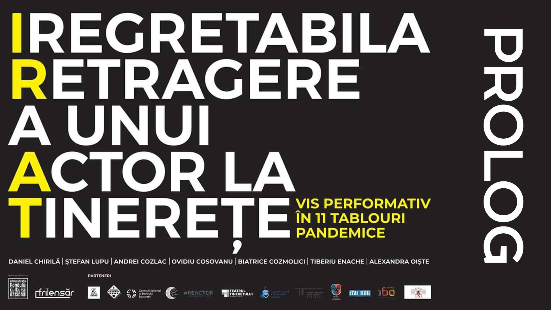 """Despre teatru în pandemie, online, la Teatrul """"Gong"""" din Sibiu"""