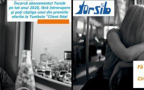 Tursib organizează tombolă cu premii pentru călători | Înscrieri între 7 – 17 decembrie