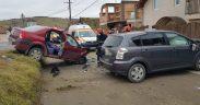 Accident în Șura Mare- trei persoane, transportate în stare gravă la spital