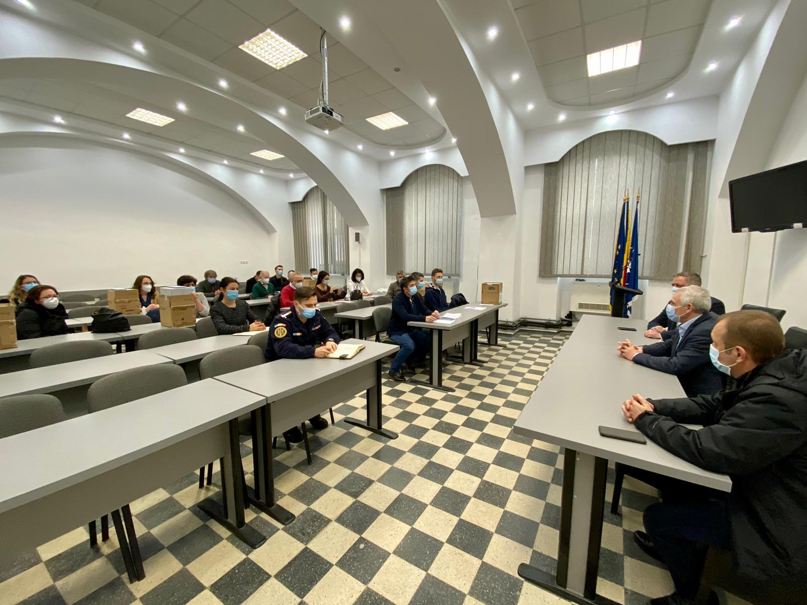 În județul Sibiu vor fi 29 de centre unde cetățenii se pot vaccina împotriva COVID-19