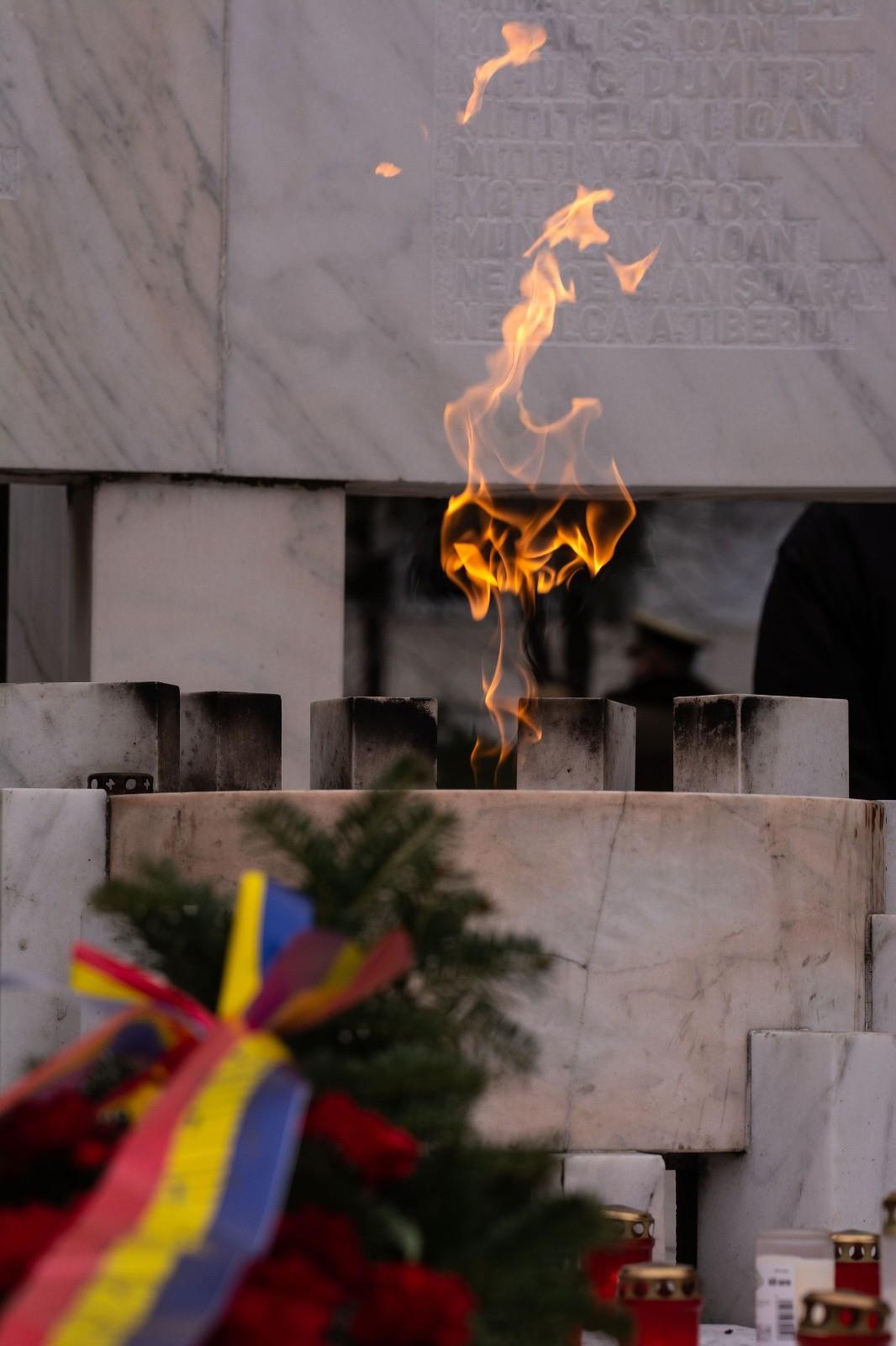 Ceremonia de Comemorarea a Eroilor Revoluției din 1989