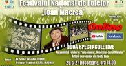 """Festivalul Național de Folclor """"Ioan Macrea"""" se mută în mediul online și la TVR 1"""
