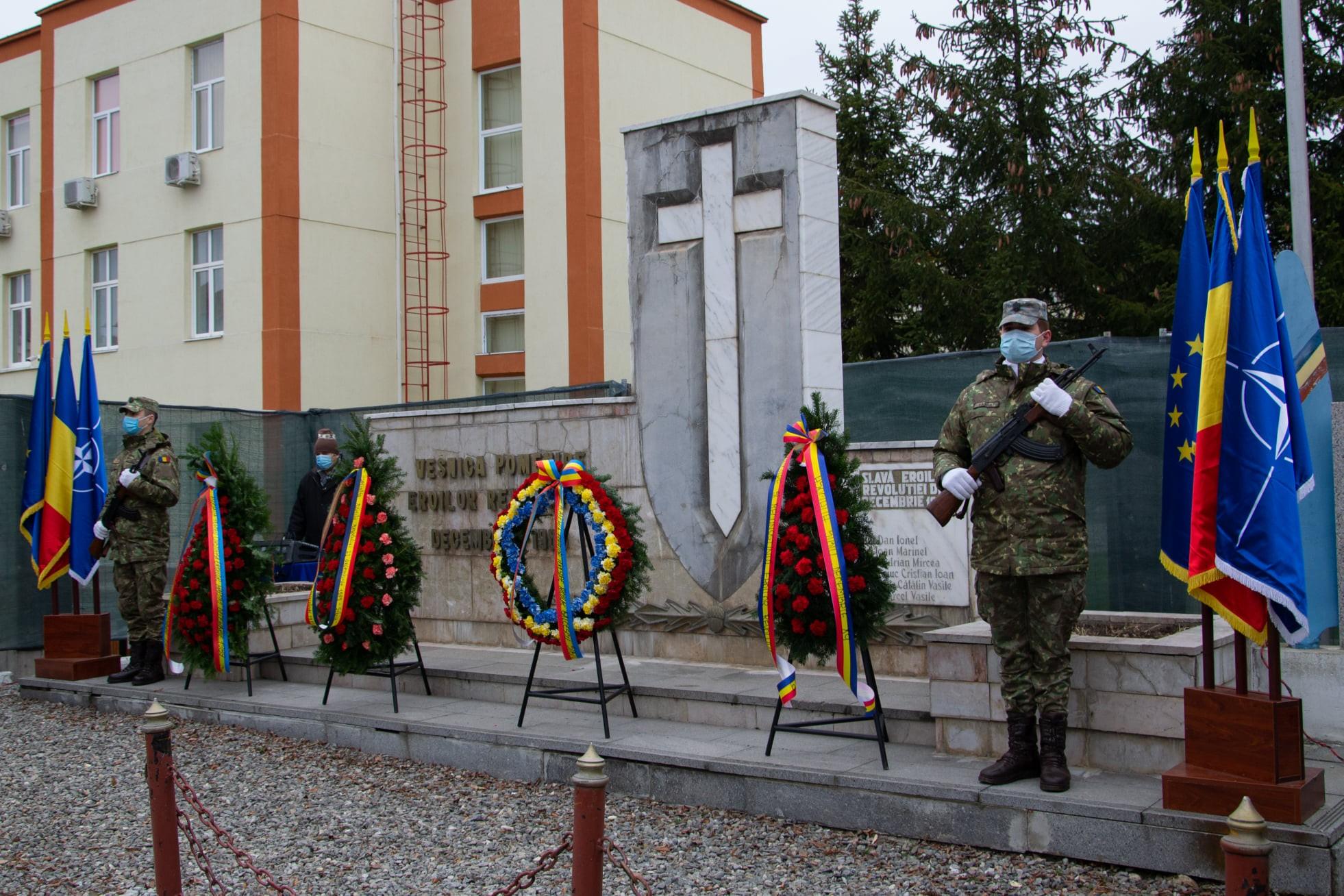 Ziua victoriei Revoluției Române și a Libertății, marcată la Sibiu