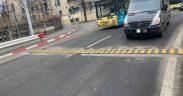 S-a montat un limitator de viteză pe Șoseaua Alba Iulia