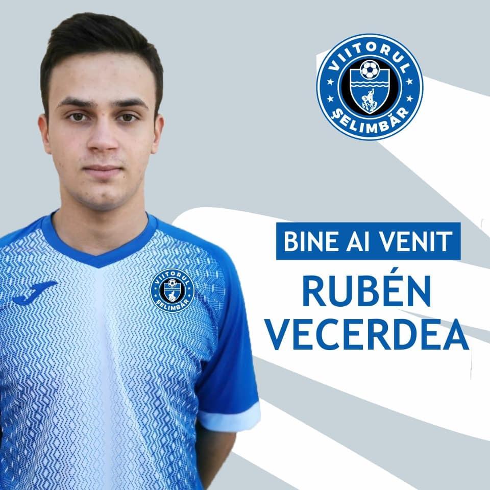 Ruben Vecerdea, ultima achiziție a echipei Viitorul Șelimbăr