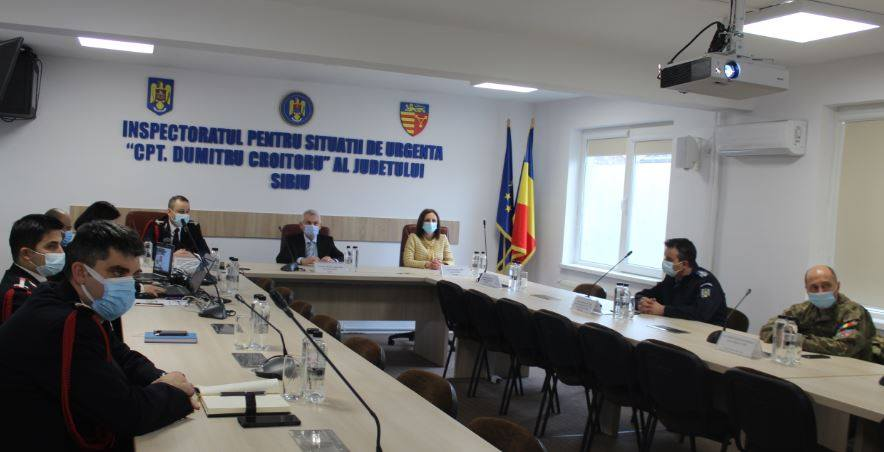 Daniela Cîmpean laudă activitățile derulate în 2020 de pompierii sibieni