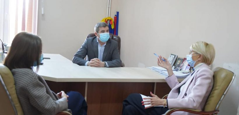 """Complexul de servicii """"Prichindelul"""" Sibiu, vizitat de președintele CJ și de ministrul muncii"""