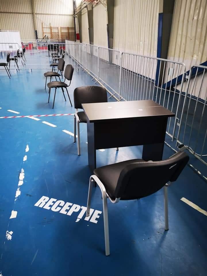 Centrul de vaccinare de la Avrig, pregătit pentru cea de-a doua etapă de vaccinare anti – COVID