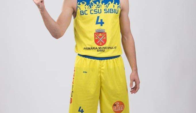 Lucas Tohătan (BC CSU Sibiu) a fost convocat la lotul național