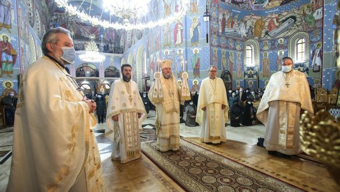 Sfintele sărbători de iarnă s-au încheiat la Sibiu cu prăznuirea SF Ioan Botezătorul