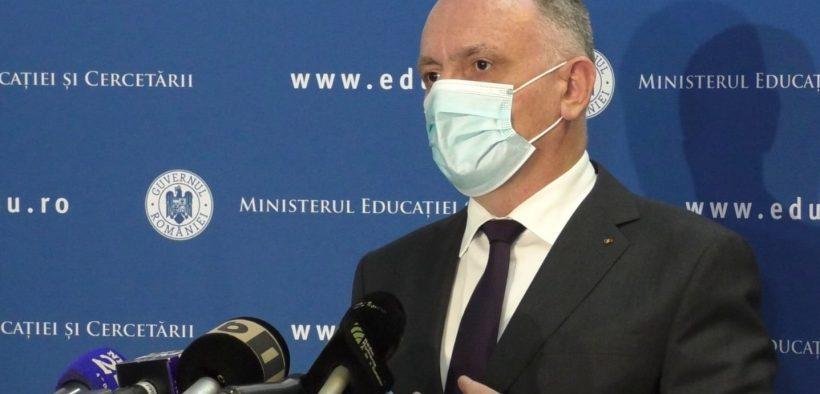 Ministrul Educației susține că 168.000 de persoane din sistemul de educaţie doresc să se vaccineze