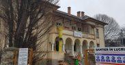 FOTO- Se lucrează intens la renovarea Dispensarului TBC de pe strada Morilor