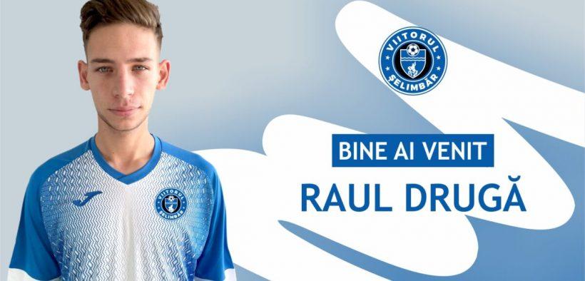 Viitorul Șelimbăr a transferat un mijlocaș trecut prin curtea lui Dinamo